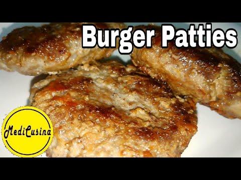 Homemade Burger Patties Recipe