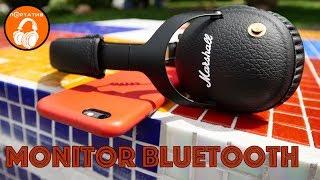 обзор наушников Marshall Monitor Bluetooth