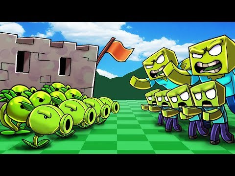 *CUSTOM* PLANTS VS ZOMBIES IN MINECRAFT! (NEW PVZ Minecraft Mod) thumbnail