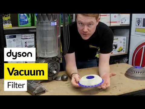 How to Replace Dyson Upright Ball Cleaner Filters
