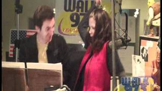 Behind the Scenes with Parker and Kelly at WALK 97.5