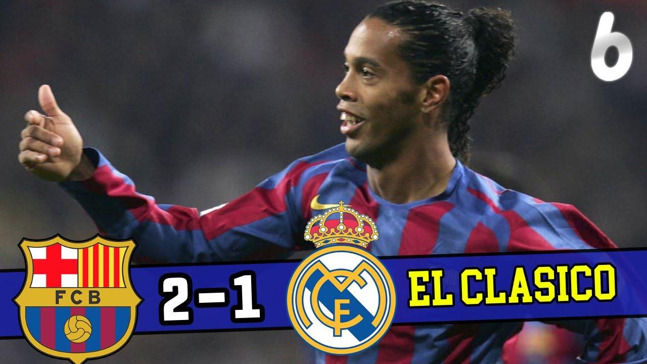 Download [El Clasico] Barcelona VS Real Madrid •Season 2003-04 34R All Goals & Highlights