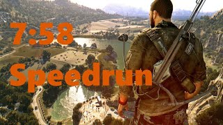 Dying Light: The Following Speedrun World Record (7:58)