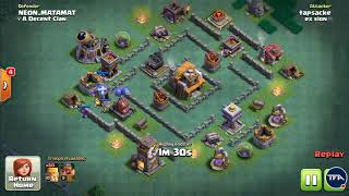 BH5 Anti 2 Star Troll Base | NEW Builder Hall 5 Base with Replays