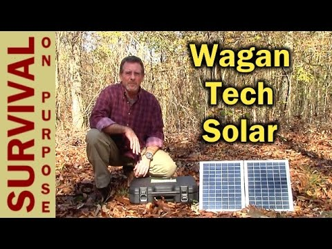 Wagan Tech Solar e Power PAC Review — Solar Powered Lights and Charger
