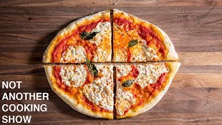 FRESH MARGHERITA PIZZA IN THE OVEN (NO PIZZA STONE)