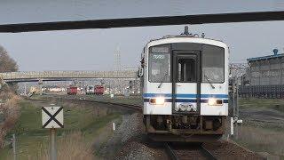 キハ120形300番台山陰線 @出雲神西駅