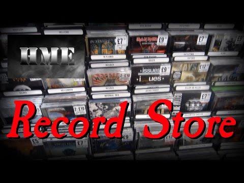 Metalheads go Record Store! - HME @ HMV