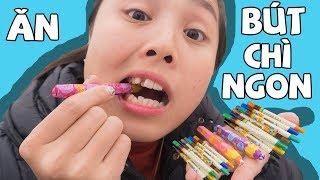 Lớp Học Nhí nhố - Trò Chơi Ăn Kẹo Bút Chì Màu ❤ KN CHENO