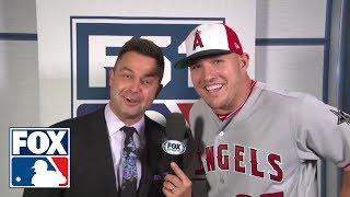 Nick Swisher Interviews All-Stars ahead of the 2018 MLB All-Star game in Washington DC | FOX MLB