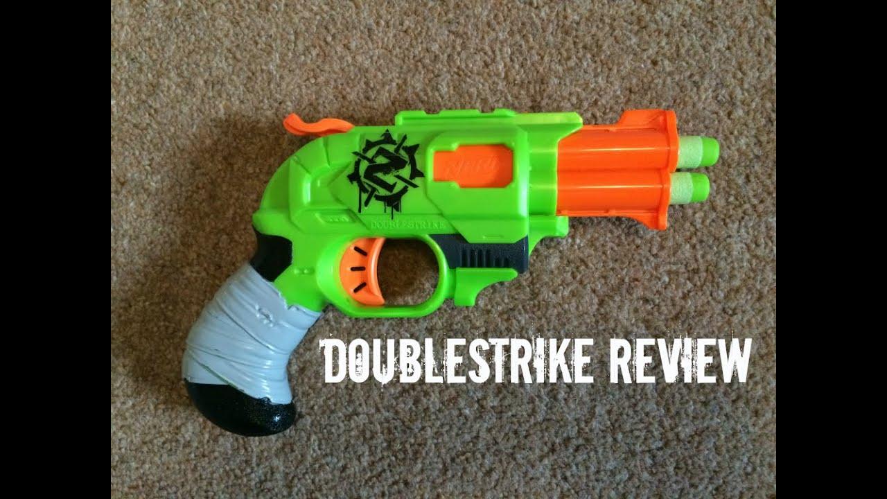 Zombie Nerf Double Strike Strike