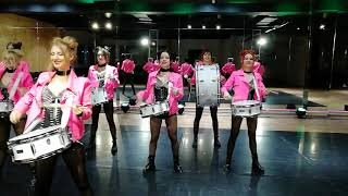 FashionPa Drummers Show Ukraine шоу барабанщиц г. Кривой Рог +380671700322