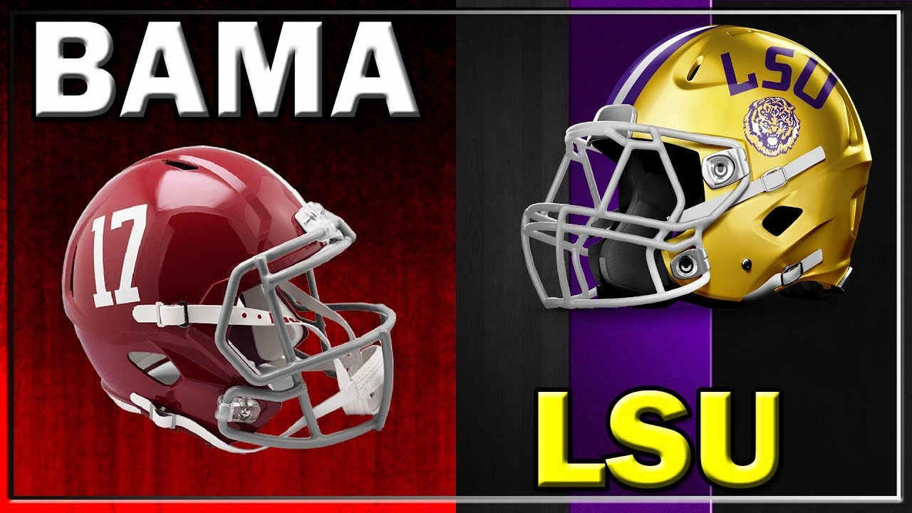 Alabama Vs Lsu Preview Key Matchups Prediction 2018 Youtube