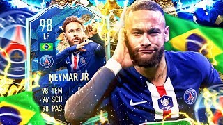 NEYMAR 98 TOTS SQUAD BUILDER BATTLE !! 🔥😱
