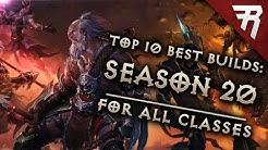 Top 10 Best Builds for Diablo 3 2.6.8 Season 20 (All Classes, Tier List)