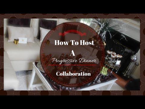 How To Host A Progressive Dinner