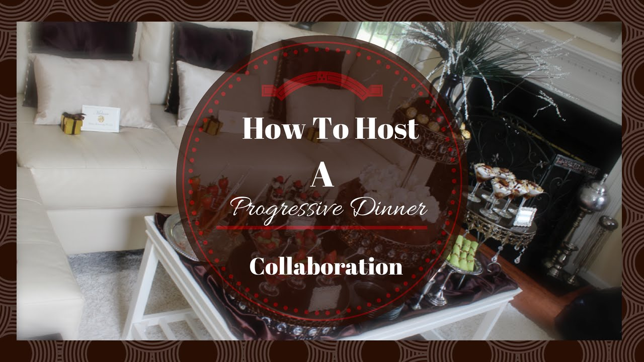Progressive Dinner Party Ideas Part - 47: How To Host A Progressive Dinner