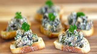 Grilled Eggplant & Ricotta Crostini - Marcel Cocit - Love At First Bite Episode 39
