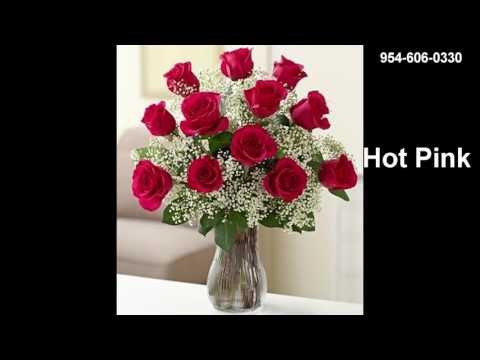 Fort Lauderdale Roses by Flowers Galore Florist Hand Delivery 954-606-0330