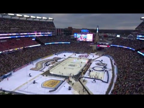 2016 NHL Winter Classic Setting - Gillette Stadium - Boston Bruins vs. Montreal Canadiens