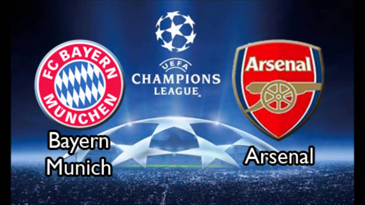 arsenal bayern video