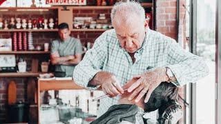 The Sicilian Barber Shave (The Nomad Barber)