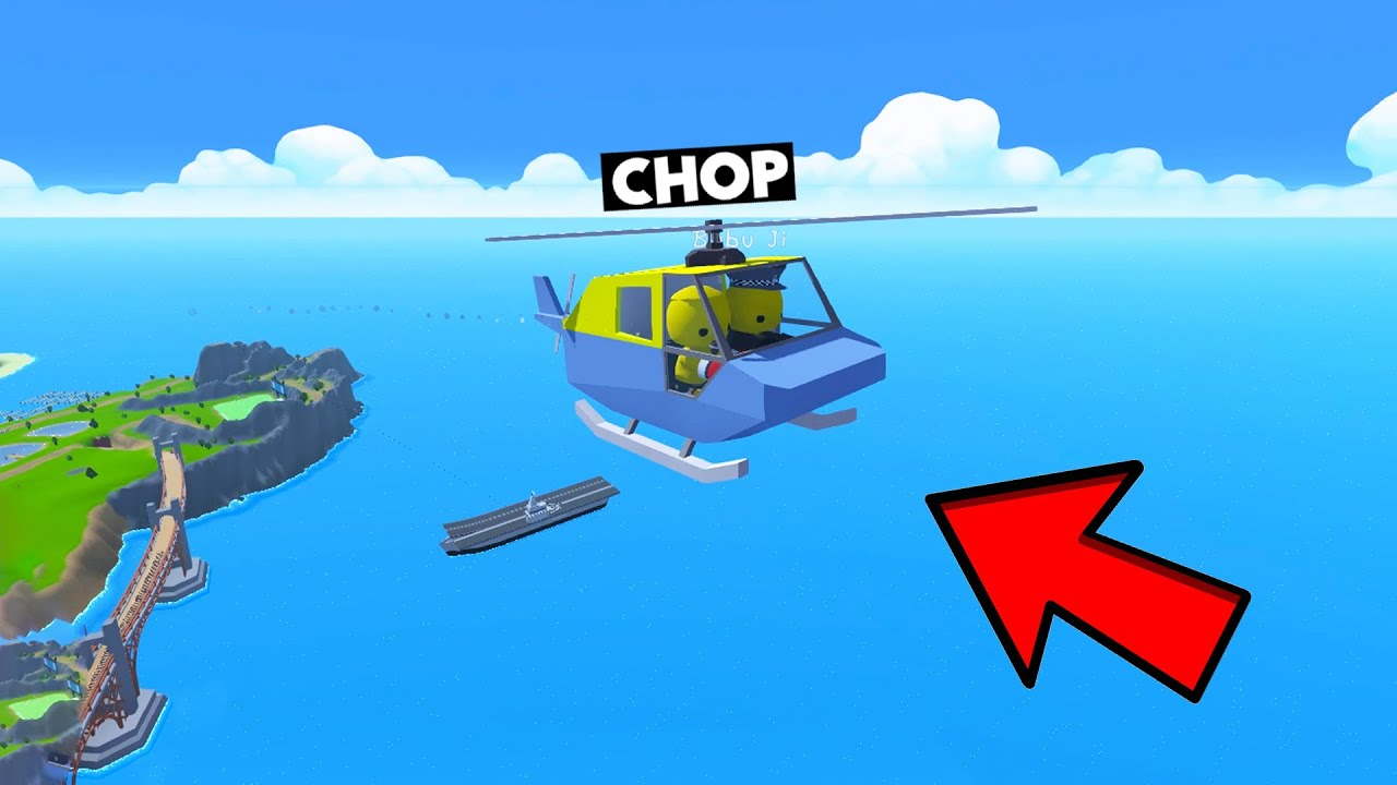 CHOP STOLE A SECRET HELICOPTER FROM POLICE STATION