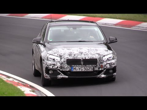 2018 BMW 2 Series Gran Coupe Testing On The Nurburgring