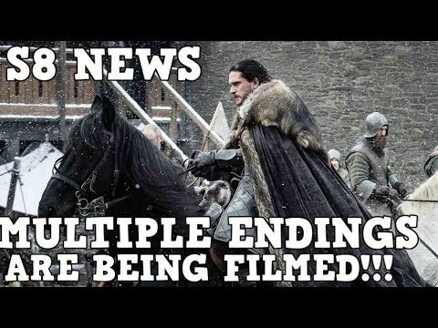 ALERT! Season 8 Game of Thrones News | The Cast won't even know how it Ends!?