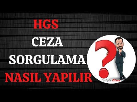 HGS CEZA SORGULAMA - NASIL YAPILIR - E DEVLET