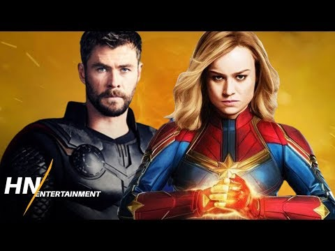 Captain Marvel VS Thor With Stormbreaker | Avengers: Endgame
