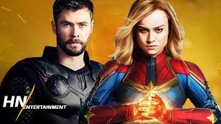 Captain Marvel VS Thor With Stormbreaker | Avengers: Endgame