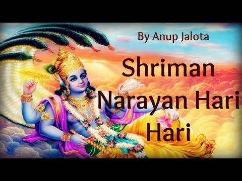 Anup Jalota - Anup jalota | Top 10 Bhajans | Shriman Narayan Hari Hari | Lyrics Video | 2016