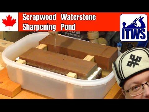 Scrapwood Waterstone Sharpening Pond