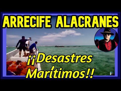 Arrecife Alacranes, Desastres Marítimos