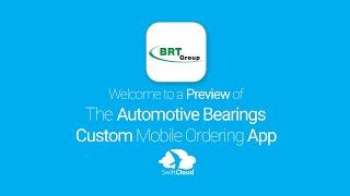 Automotive Bearings - Mobile App Preview - AUT040W
