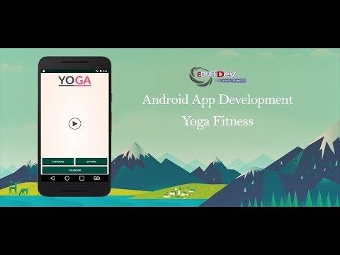 Android Studio Tutorial - Yoga Fitness Part 1 edmt dev