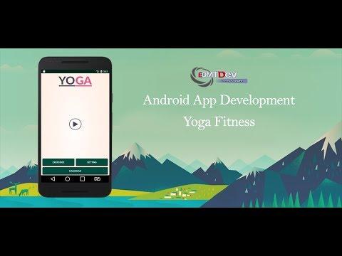 Android Studio Tutorial - Yoga Fitness Part 1 edmt dev