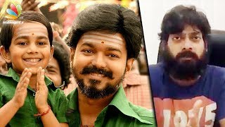 Mersal is facing problems because of POLITICS : Nithin Sathya   Vijay, Atlee Movie Controversy
