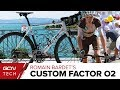 Romain Bardet's Custom Painted Factor O2