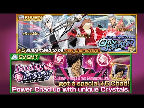 Bleach Brave Souls: Summons Mercifully & Frenzy Chad!!! Novo Begginer's Pack, Quem Pegar? - Omega Play