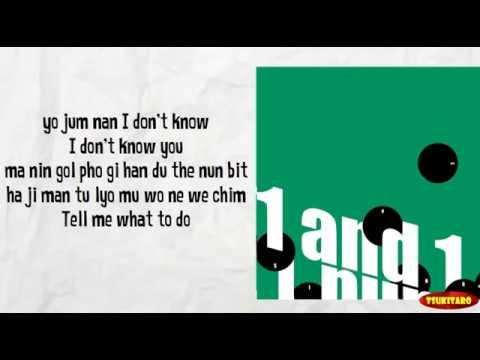 SHINee - Tell Me What To Do Lyrics (karaoke With Easy Lyrics)