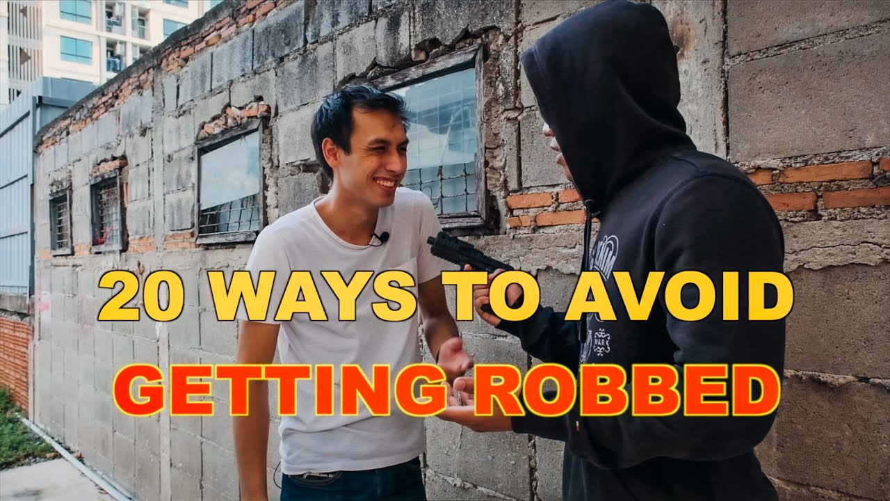 Download 20 WAYS TO AVOID GETTING ROBBED