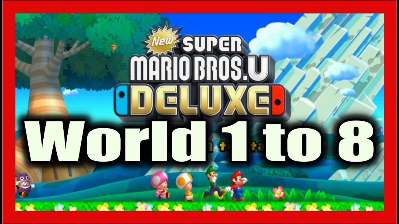 How To Pass New Super Mario Bros U Deluxe Nintendo Switch Lite