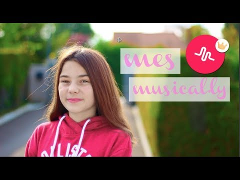 MES MUSICAL.LY !!♡