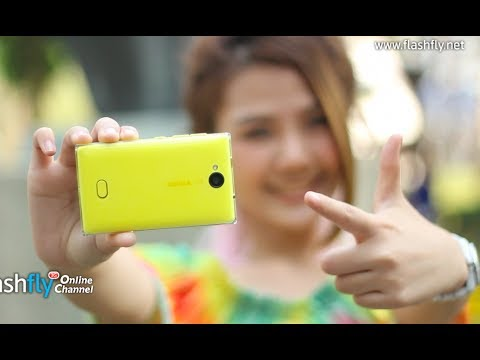 Flashfly Online Channel : Nokia Asha 503  with Crystal Design with 5 MP camera fast capture & share