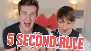BROTHERS PLAY 5 SECOND RULE