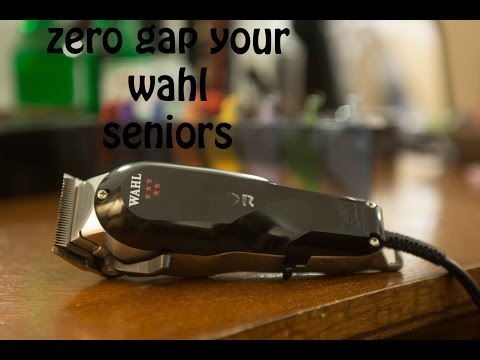 How to zero gap your Wahl clippers the easy way