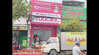 Lắp đặt kệ cho Shop Mẹ và Bé TutiCare tại Cần Thơ   Kệ siêu thị Hanatech 0369124565