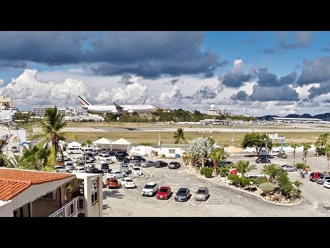 Sint Maarten (SXM) Time-Lapse – Air France – Airbus A340-300 & More – Time-Lapse Series Ep. 39